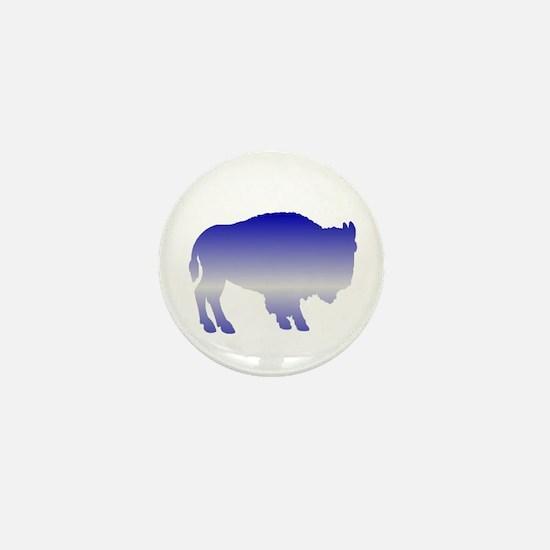 Buffalo Winter Mini Button