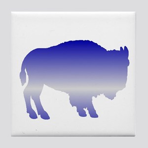 Buffalo Winter Tile Coaster