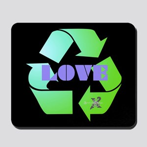 SX Eco-Recycle Love Mousepad