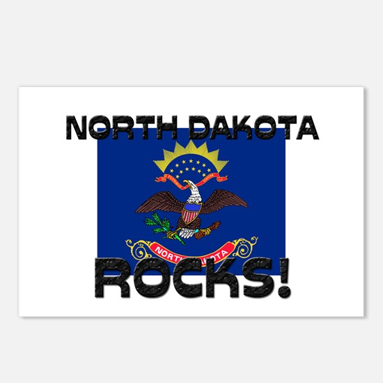 North Dakota Rocks! Postcards (Package of 8)
