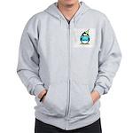 2007 Senior Party Penguin Zip Hoodie