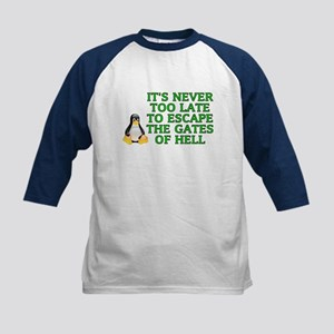 It's never too late Kids Baseball Jersey