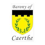 Caerthe Rectangle Sticker 10 pk)