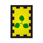 Caerthe populace Rectangle Magnet