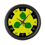Caerthe populace Large Wall Clock