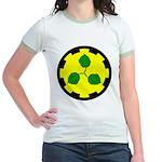Caerthe populace Jr. Ringer T-Shirt