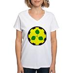 Caerthe populace Women's V-Neck T-Shirt