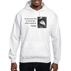 Walt Whitman 22 Hoodie