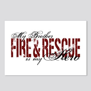 Brother My Hero - Fire & Rescue Postcards (Package