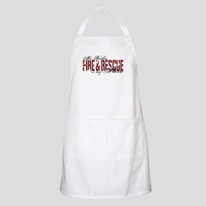 Brother My Hero - Fire & Rescue BBQ Apron