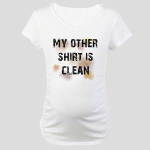 Dirty Shirt Maternity T-Shirt