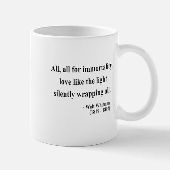 Walt Whitman 22 Mug