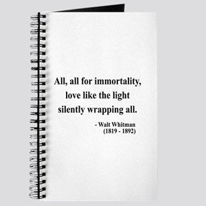 Walt Whitman 22 Journal
