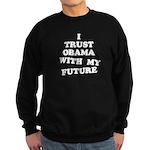 Obama Trust Sweatshirt (dark)