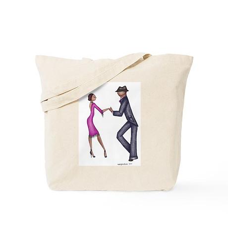 Retro Dancer Tote Bag