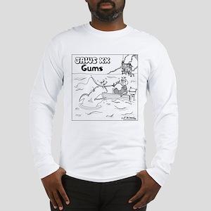 Jaws XX: Gums Long Sleeve T-Shirt
