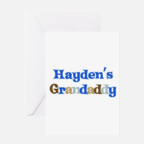Hayden's Grandaddy Greeting Card