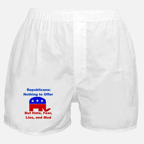 Anti-Republican Boxer Shorts