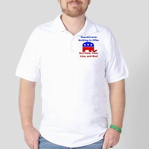 Anti-Republican Golf Shirt
