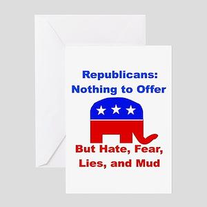 Anti-Republican Greeting Card