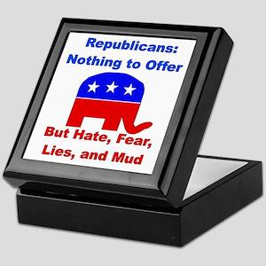 Anti-Republican Keepsake Box