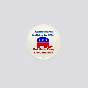 Anti-Republican Mini Button