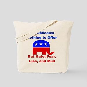 Anti-Republican Tote Bag