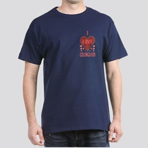 I Love Colorguard Dark T-Shirt