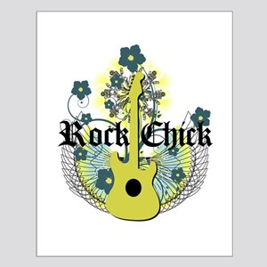 Rock Chick Small Poster