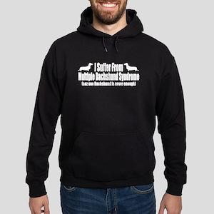 Dachshund Hoodie (dark)