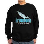 Dolphin Freedom Sweatshirt (dark)