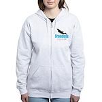 Dolphin Freedom Women's Zip Hoodie