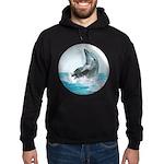 Bubble Dolphin Hoodie (dark)