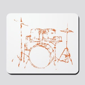 Drum Kit Drums Set Mousepad