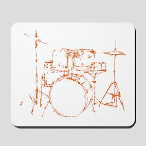 Drum Kit Drums Set Mousepad