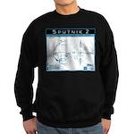 SPUTNIK 2 black & white Sweatshirt (dark)