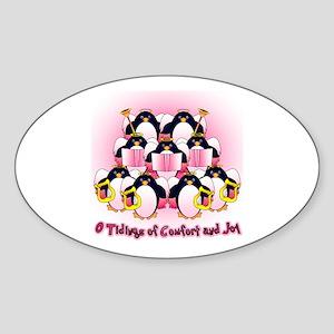 Comfort and Joy Oval Sticker
