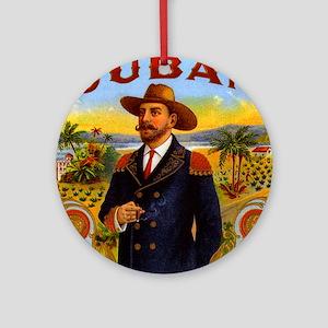 Cuba Cuban Ornament (Round)