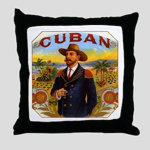 Cuba Cuban Throw Pillow