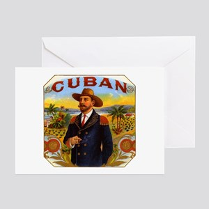 Cuba Cuban Greeting Cards (Pk of 10)