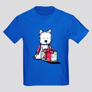 Westie Gift II Kids Dark T-Shirt
