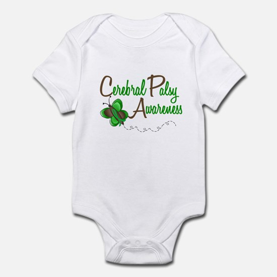 CP Awareness 1 Butterfly 2 Infant Bodysuit