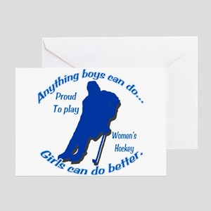 Anything Boys Can Do... Greeting Card