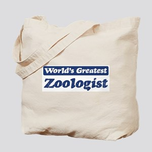 Worlds greatest Zoologist Tote Bag