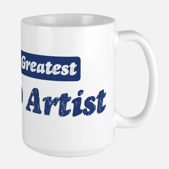 Worlds greatest Tattoo Artist Large Mug