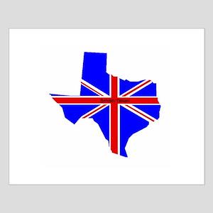 British Texan Small Poster