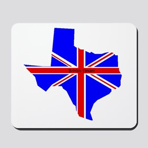 British Texan Mousepad