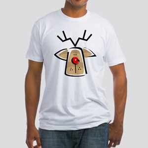 REINDEER (103) Fitted T-Shirt