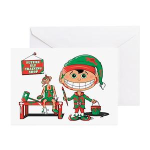 Funny feliz navidad greeting cards cafepress m4hsunfo