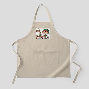 Christmas Elf BBQ Apron